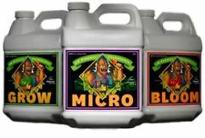 Advanced Nutrients pH Perfect Bloom Grow Micro Bundle 3-Part Formula /3 X 4LTR