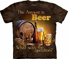 The Mountain Unisex Erwachsen Beer Outside Drink T Shirt