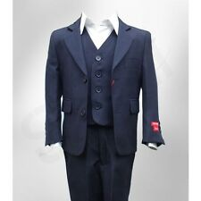 DESIGN ITALIANO PAGGETTO RAGAZZI COMPLETO IN BLU NAVY DINNER,MATRIMONIO,FESTA,