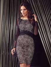 Ladies Sexy Lace Bodycon Party Cocktail Dresses Tunic Dress Size 10 12 14