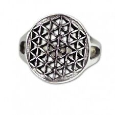 etNox - Silberring ''Flower of Life'' (R5620)