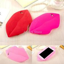 3D Cute Sexy Kiss Lips Soft Rubber Silicone back Case Cover For iPhone 6 6 Plus
