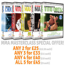 MMA Masterclass Instructional DVD Box Set **BUNDLE** [MMA UFC BJJ] Choose QTY!