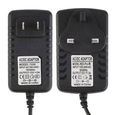 DC 12V 2A AC Adapter Power Supply Transformer for 5050 5630 3528 LED Strip SY