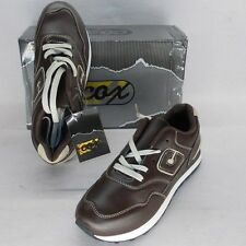 Cox by Trento 9464 6 scarpe sneaker sportive shoes dark brown beige