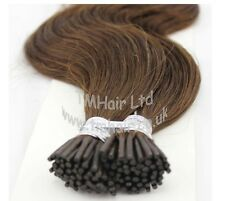 "25Strands (5A Grade) 20"" 0.8g Stick Tip/I Tip 100% Remy Human Hair Extensions"