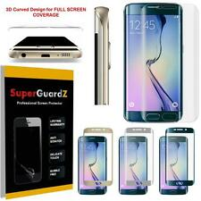 3X Colorful Curved FULL COVER Screen Protector Guard for Samsung Galaxy S6 Edge