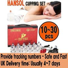 Genuine Hansol cupping set cups for slimming, vacuum massage and Acupuncture