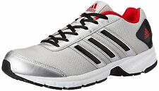 Adidas Brand Mens Adosonic Silver Red Running Sports Shoes