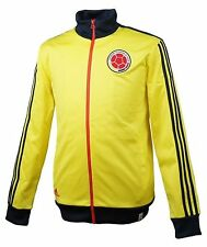Adidas Men Colombia National Track Top Jackets Yellow Football Soccer GYM M36367