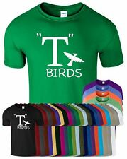 T Birds Mens T-Shirt Grease Funny Fancy Dress Jhon Travolta Top Movie TShirt