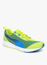Puma Brand Mens Ignite XT Lime,Blue Sports Shoes