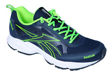 Reebok Mens Original Top Runner Navy Green Casual Sports Shoes