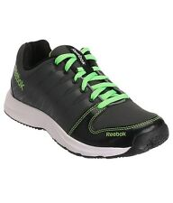 Reebok Mens Original Cool Traction Black Green Casual Sports Shoes