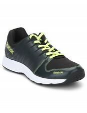 Reebok Mens Original Cool Traction Black Lime Casual Sports Shoes