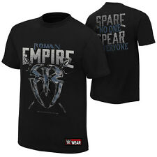 "WWE ROMAN REIGNS ""ROMAN EMPIRE"" OFFICIAL T-SHIRT NEW (ALL SIZES)"