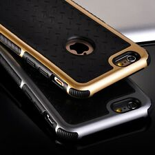 *LUXURY ULTRA SLIM*Tough Hard PC+Silicon Hybrid Cover Case For Apple iPhone 6/6S