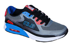 Columbus Brand Mens Chaser Black Grey Sports Shoes