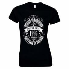 GIFT BOXED Matured To Perfection 1996 20th Birthday Present Gift Womens T Shirt