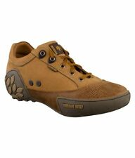 WOODLAND ORIGINAL MENS 549108 CAMEL ADVENTURE CASUAL LACED FLAT SHOES SALE