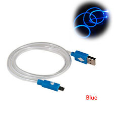 LED Light Micro USB Charge Data Sync Cable For Android Phone Samsung Sony HTC LG