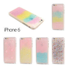 NEW Candy Glitter Star Gel Silicone Case Cover For Apple iPhone 6 6S 4.7""
