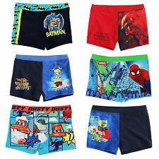 Boys Swimming Trunks Swim Shorts Character Age 2 3 4 5 6 7 8 9 10 11 12 Years