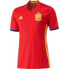 ADIDAS SPAIN EURO 2016 AUTHENTIC PLAYER HOME ADIZERO JERSEY Scarlet/Bright Yell