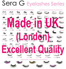 GOOD QUALITY False Eyelashes | Long Short Natural Thick Fake Lashes - Made in UK