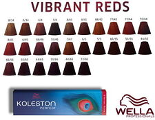 wella colour chart reds pictures: 281915969337 1 jpg