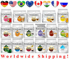 Tassimo Coffee Capsules - Pods - 41 Tasty Flavours - Worldwide Shipping from Ger