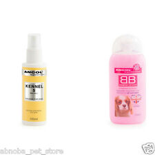 Ancol BB Baby Powder Scent Dog Shampoo & Kennel 5 Cologne Perfume Scent Set