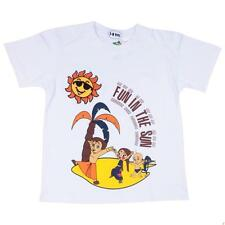 Chhota Bheem Boys T-shirt - White