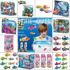 Autentico ZURU RC Robo Fish, Robot Sirena, Tropical Pirata sirena Gioco Set