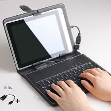 "7"" Keyboard + Leather Cover + OTG Cable 
