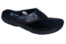 RED CHIEF MENS ORIGINAL BLACK 410 CASUAL SLIPONS SLIPPER / SANDAL