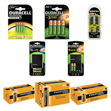 Duracell Chargers & Batteries Multi Offers CEF27 CE14 CEF22 AA AAA D10 C10