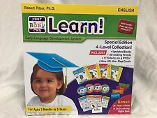 Your My Baby Can Learn / Read English set Volume 1-4 DVD, books, cards BRAND NEW