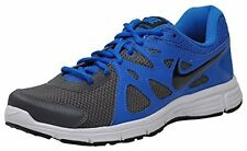 Nike Brand Mens Original Revolution Grey R.Blue Running Shoes