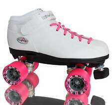 Riedell R3 Roller Derby Pattini - Bianco