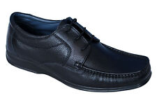 BATA BRAND MENS BLACK LACE LEATHER FORMAL SHOES 6428
