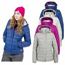 Trespass Cintia Womens Padded Down Jacket Ladies Lightweight Hooded Winter Coat