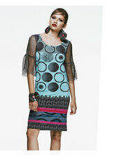 SAVE THE QUEEN NS SS16 BRIGHT PRINT DRESS XL