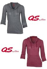 QS by s.Oliver T-Shirt mit Kapuze