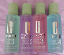 CLINIQUE CLARIFYING LOTION 200 ML FOR SKIN TYPES 1.0, 2, 3, AND 4