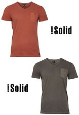 !Solid T-Shirt David Gr, S, M, L, XL, XXL 2 Farben NEU