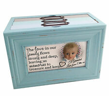 Personalised photo memory box or photo album storage, family memories Grandad