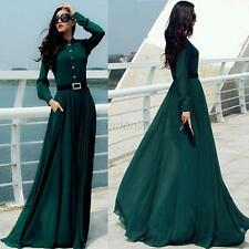 Women Slim Maxi Dress Evening Formal Party Dress Cocktail Prom Gown Long Dress
