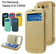 Mercury Goospery Wow Bumper View Case Flip Cover For Samsung Galaxy S3 i9300