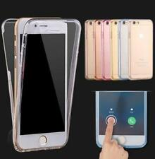 Shockproof 360° Silicone Protective Clear Case Cover For Apple iPhone 5 7 7 plus